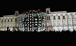 Video mapping au Carnaval de Québec