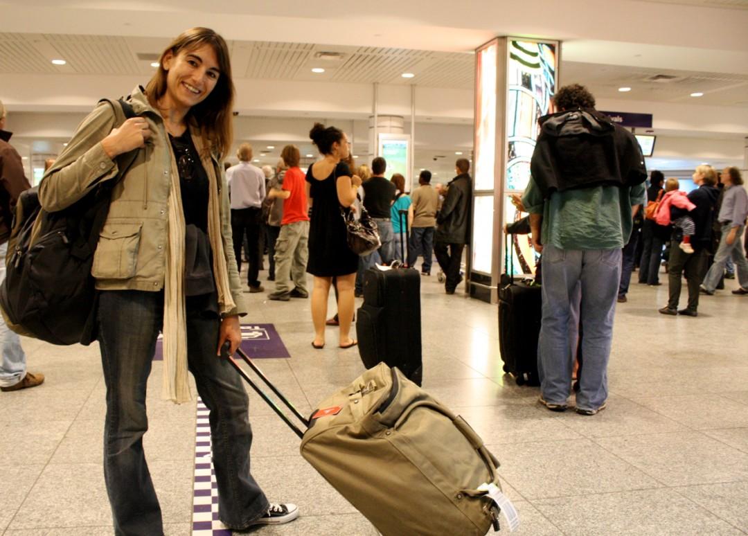 Corinne Bourbeillon lors de son passage à Montréal en 2009