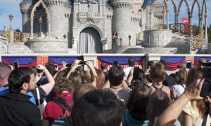 Alors, la nouvelle section de Fantasyland?