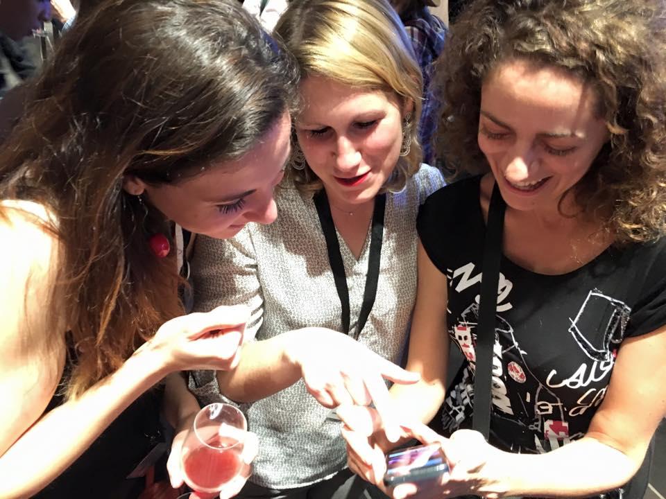Mais que peuvent bien regarder Corine de Vie nomade, Laurène de Carnets d'escapade et Mon week-end en Alsace et Sarah Dawalibi?