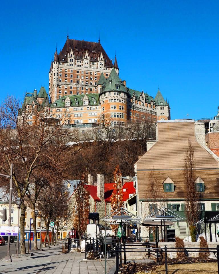 Le Château Frontenac, à Québec
