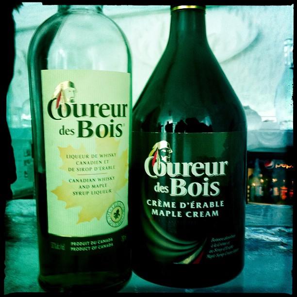 J'ai pour ma part opté pour un drink typiquement québécois à base de whisky et de crème au sirop d'érable.