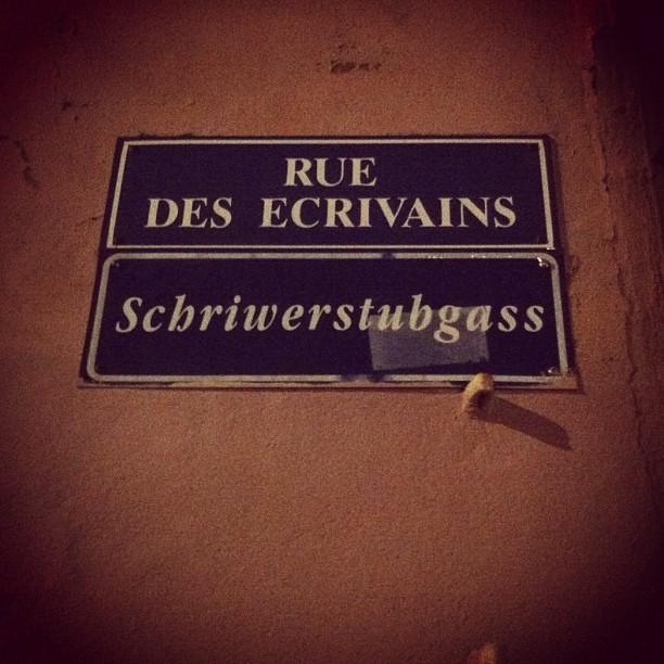 Rue des écrivains