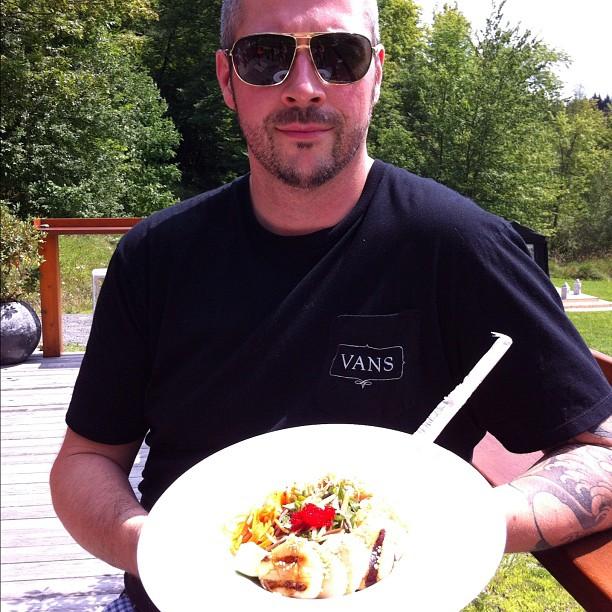 Le chef François Côté du restaurant L'Impérial, à Granby, a participé à l'édition 2012 de L'été des chefs