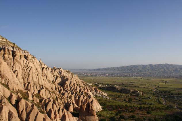 La Cappadoce vue du ciel (©Marie-Julie Gagnon)