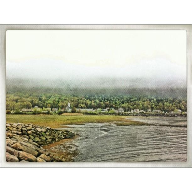 Comment récupérer une photo prise dans un brouillard épais? Lui donner un effet «peinture à l'huile».