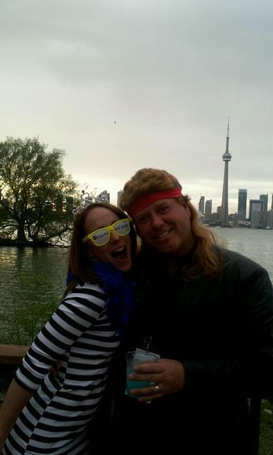 """Avec Guy """"Billy Ray"""" Thériault de Parcs Canada (Merci pour la photo Marie-Ève!)"""