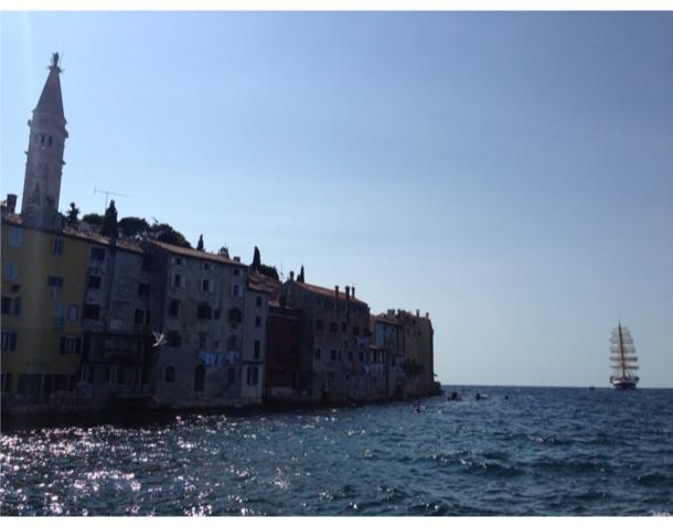 Port de Rovinj, en Croatie.