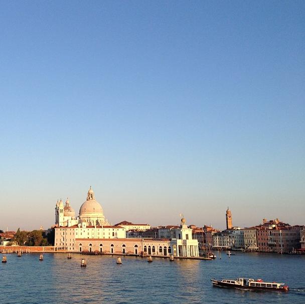 L'arrivée à Venise: magique!