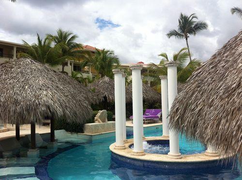 Ma piscine royale (que je partageais avec d'autres membres de la «royauté»)