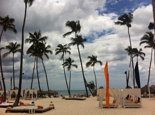 Gabi beach est le coin plus «branché» de la plage (accessible à tous)