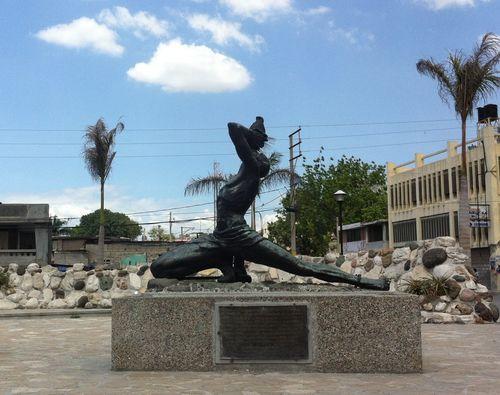 Statue du Marron Inconnu, à Port-au-Prince