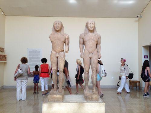 Les «jumeaux» d'Argos Cléobis et Biton