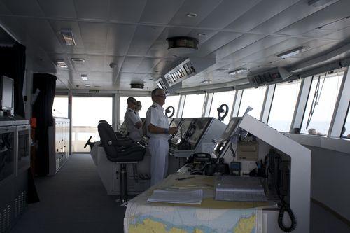 Le commandant Roger Van Damme est à l'emploi de la Compagnie du Ponant depuis 13 ans. Il a même déjà été attaqué par des pirates près de la Somalie!