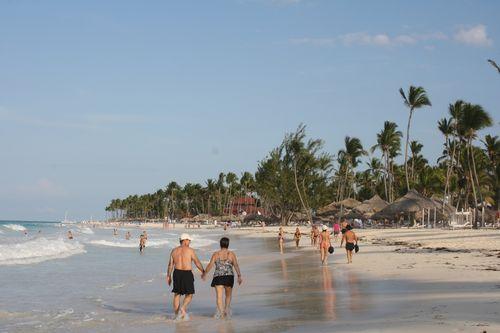 Plage de l'hôtel Paradisus Punta Cana