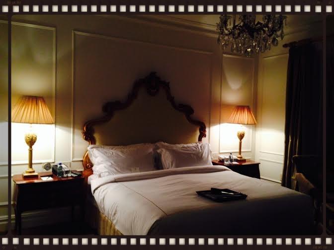 Mon lit (suite Edwardian)!