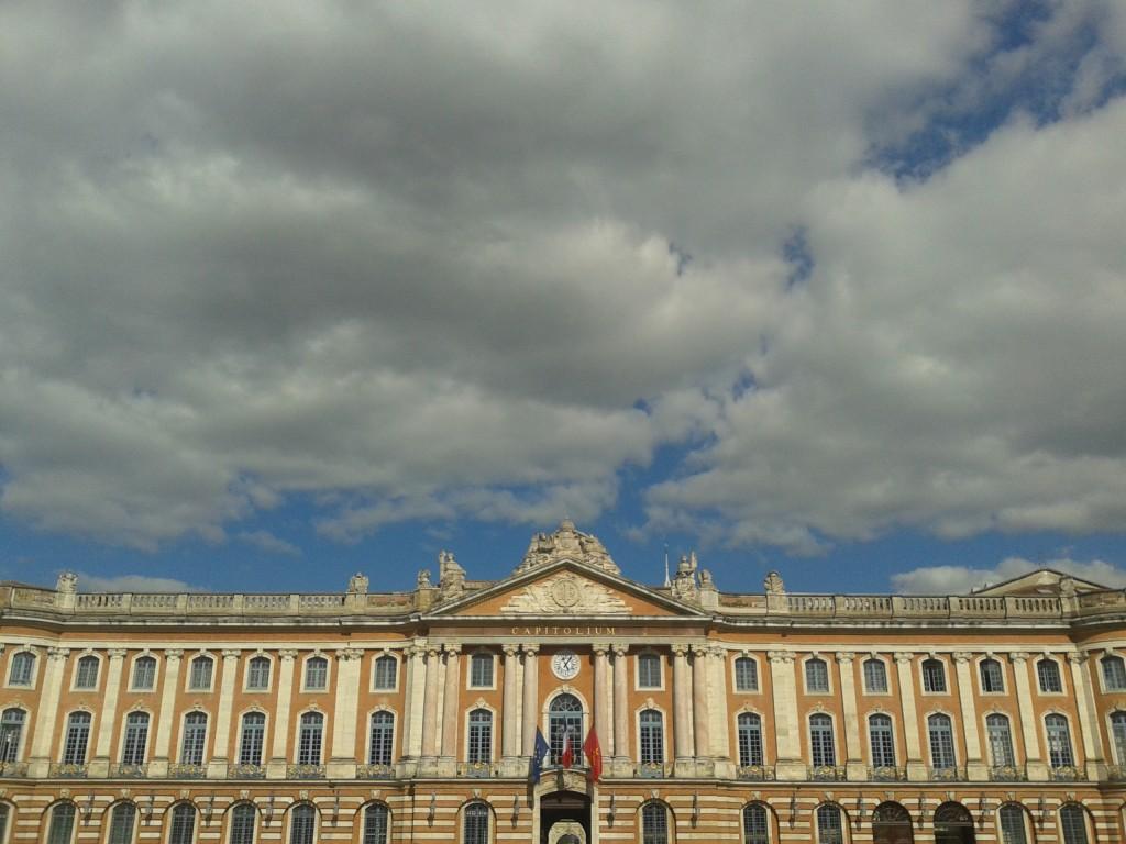 Capitole de Toulouse, la principale place de la ville, et hôtel de ville (Photo: collection personnelle d'Aurelie)