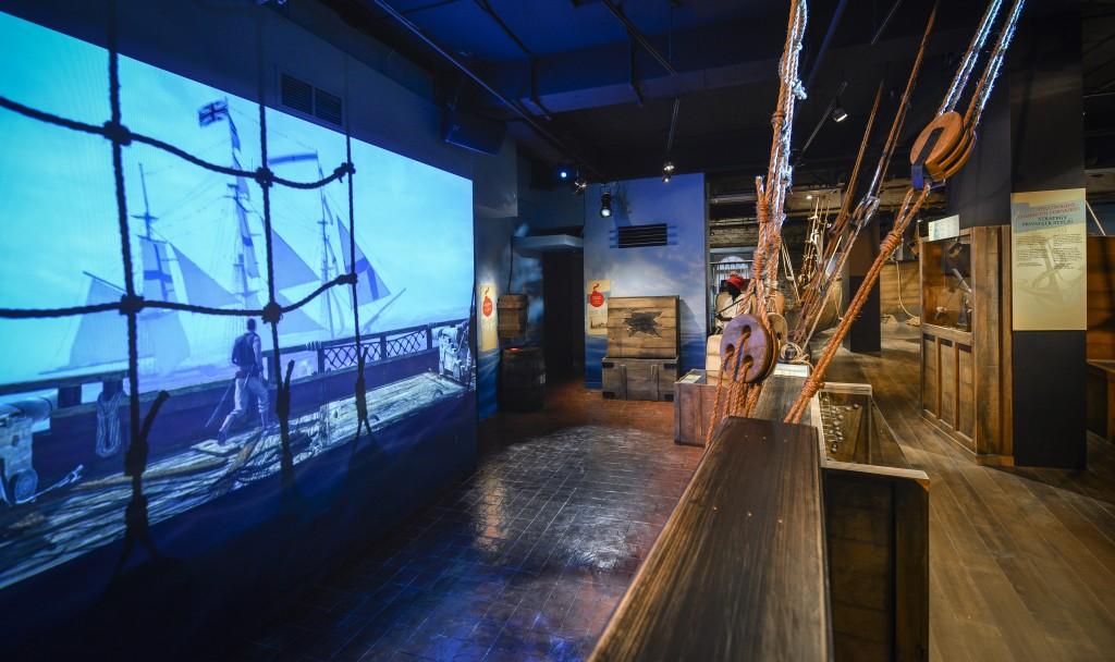 Pirates et Corsaires, musée Pointe à Callière