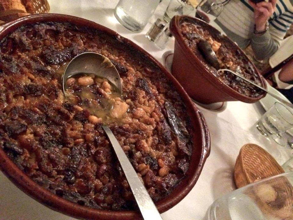 Cassoulet au restaurant Le Tournesol