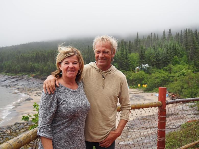 Sandra et André, les charmants propriétaires