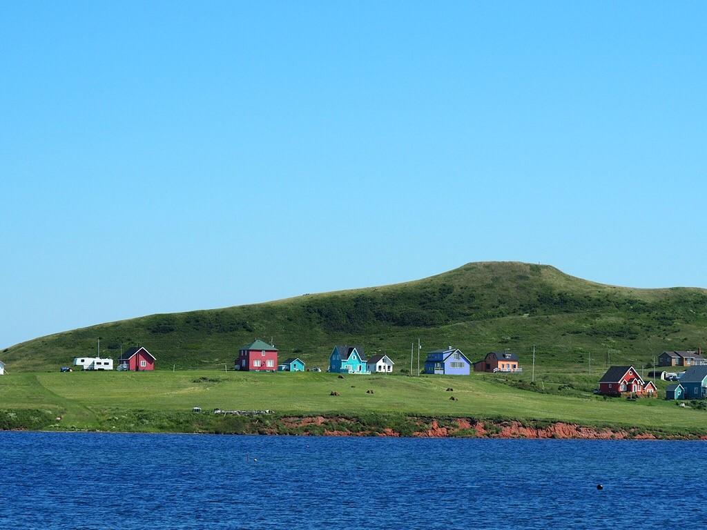 Les jolies maisons colorées