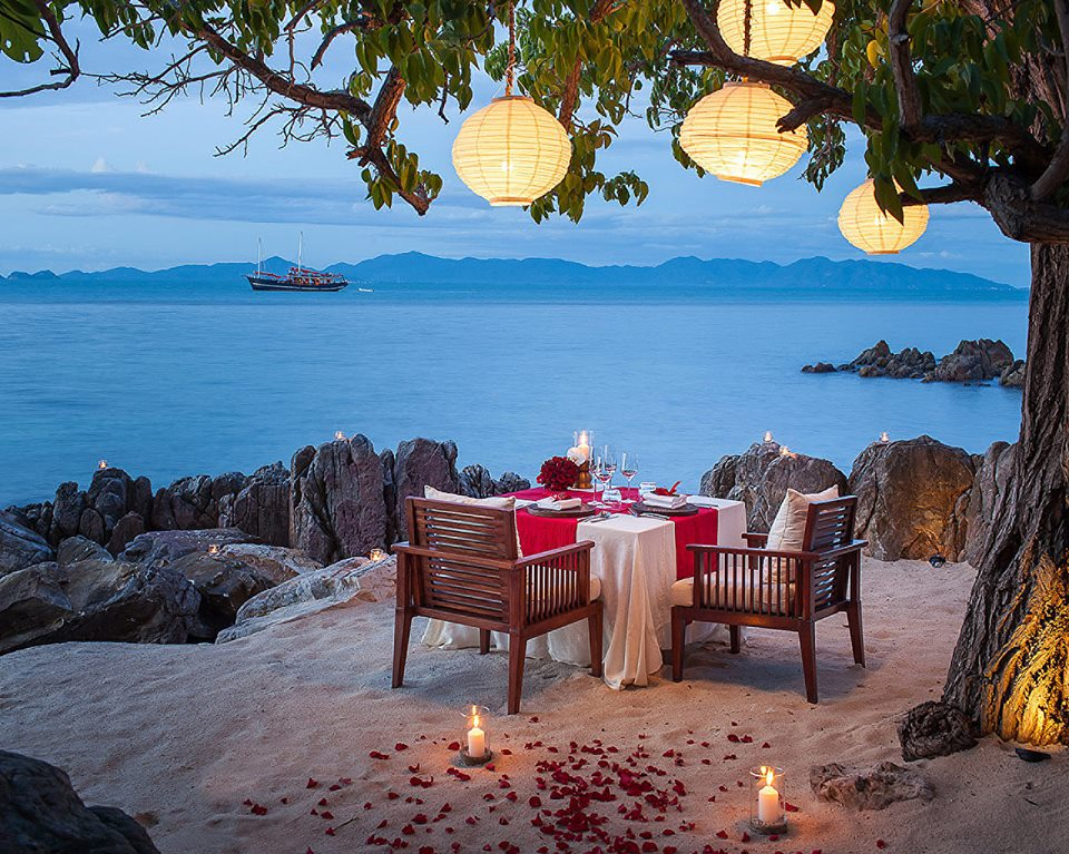 Four Seasons Resort, Koh Samui, Thaïlande (Source: page Facebook de Four Seasons)