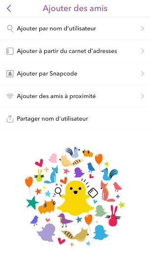 AjouterSnapchat