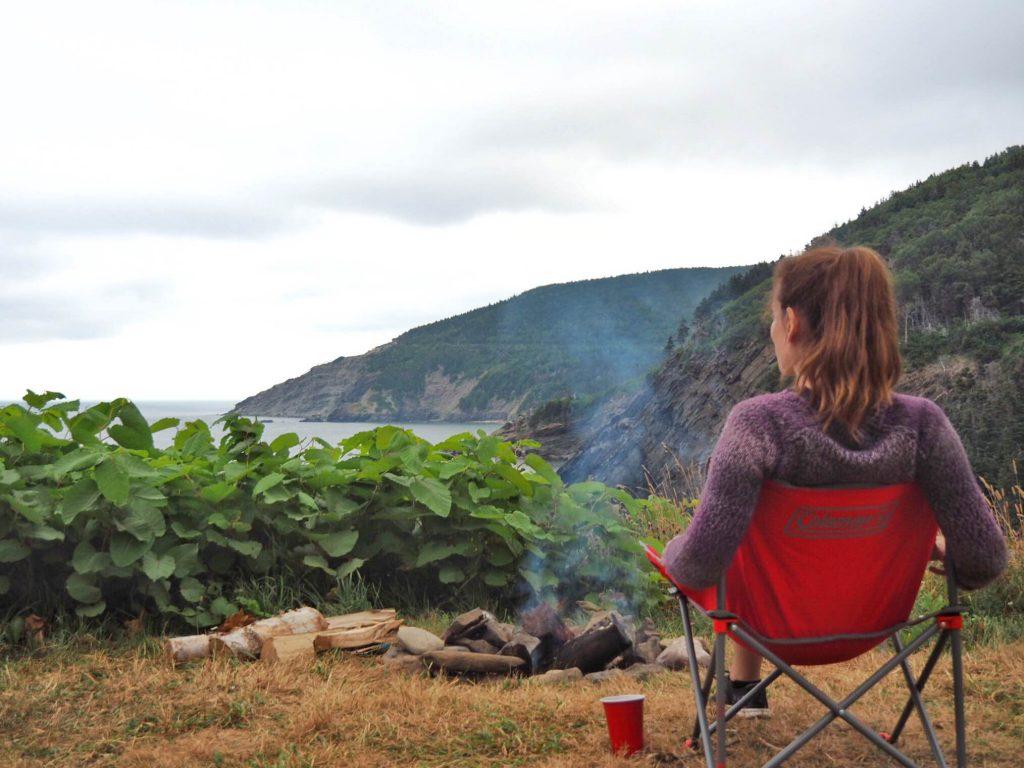 Camping de Meat Cove, à l'île du Cap-Breton, en Nouvelle-Écosse